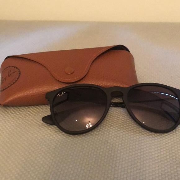 02e3d1bacf5 Ray Ban Erika Matte Black sunglasses. M 5b46b46ed6dc52922ba1aa83